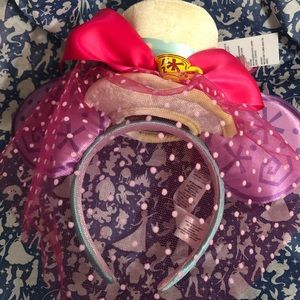 Minnie Mouse Main Attraction Tea Party Ears BNWT